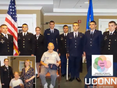 Picture of a Veterans Award Ceremony